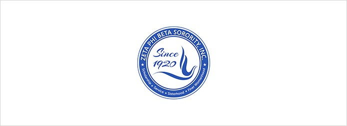 Zeta Phi Beta logo on white background
